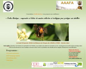 Conférence Frelon Asiatique FONTENAY-SOUS-BOIS