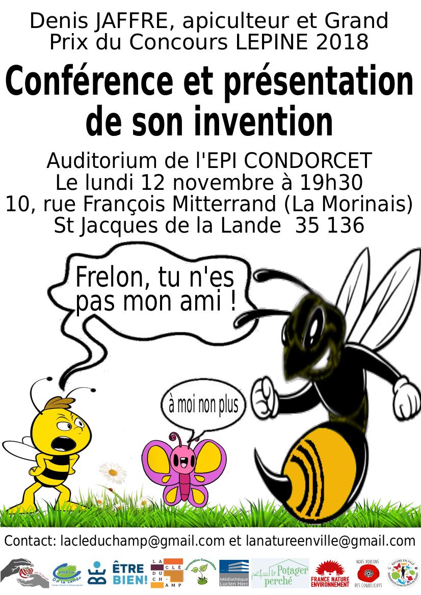 Présentation du Jabeprode le 12-11- 2018 salle de l'Épi à Saint Jacques de la Lande