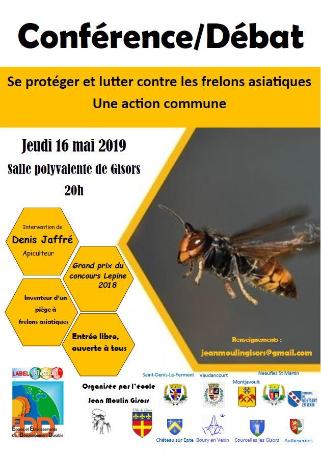 Conférence/Débat - Gisors 16 mai 2019